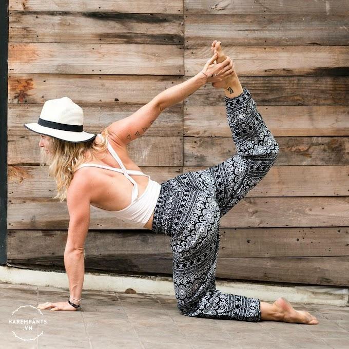Quần tập Yoga (đen)