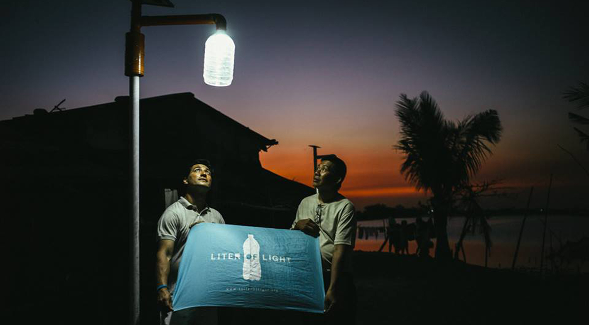 Liter Of Light Fighting Energy Poverty By The Simplest