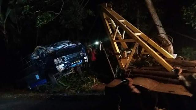 Kecelakaan Maut di Desa Baron Kec Bawang
