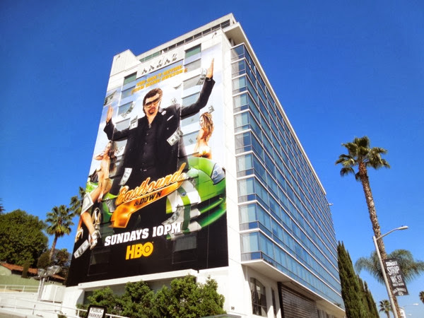 Giant Eastbound & Down 4 billboard