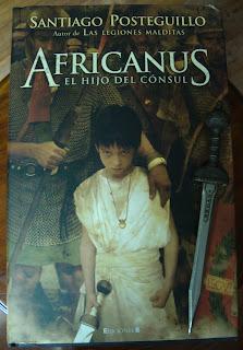 Portada del libro Africanus. El hijo del cónsul, de Santiago Posteguillo