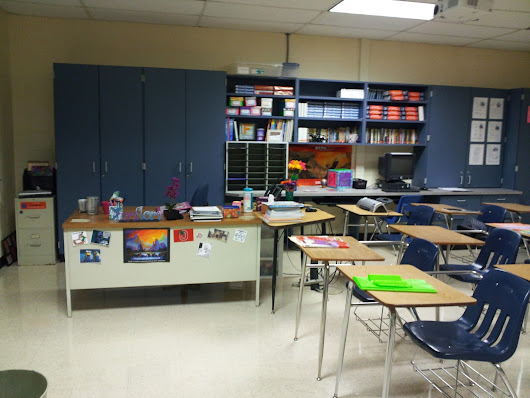 Beginning of the Year 2013-2014: Classroom set up