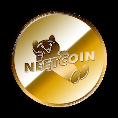 ニートコイン(NEETCOIN)のフリー素材(金貨ver)