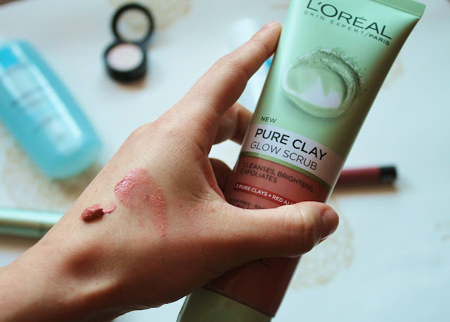 L'Oreal Pure Clay Glow Scrub Review