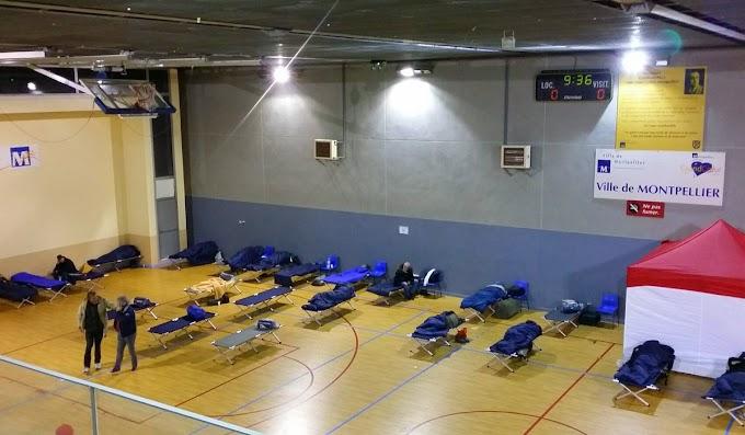 Vague de froid : la mairie ouvre le Gymnase Emmanuel Gambardella