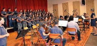 Πολυφωνική παιδική χορωδία του Συλλόγου Γονέων του Μουσικού Σχολείου Κατερίνης