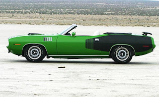 1971 Plymouth 426 HEMI Cuda Convertible Side Picture