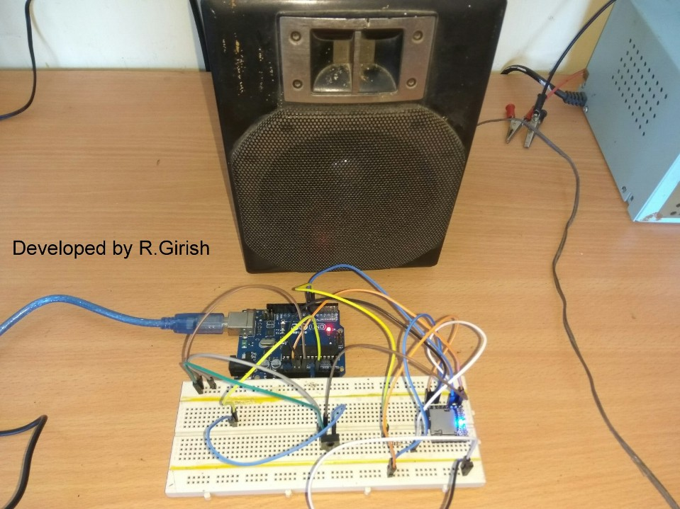 Mp player using arduino and dfplayer