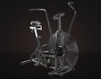 Assault AirBike Classic, review features compared with AirBike Elite, air fan exercise bike