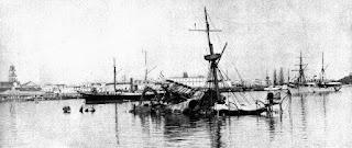 Historia de esta Imagen: 1898 - El hundimiento del acorazado Maine