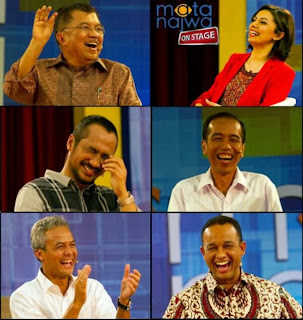 Mata Najwa, Abraham Samad, Anies Baswedan, Joko Widodo, Jusuf Kalla, Ganjar Pranowo