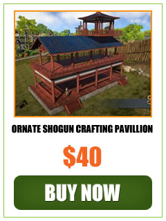 Selling Ornate Shogun Crafting Pavillion!