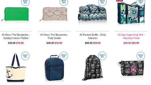 Thirty-One OUTLET SALE open today!
