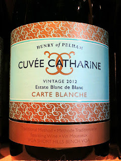 Henry of Pelham Cuvée Catharine Carte Blanche Estate Blanc de Blanc 2012 (91 pts)