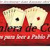 Cinco razones para leer a Pablo Palazuelo.