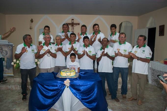 Terço dos homens comemora 11º aniversários na comunidade de formigueiro