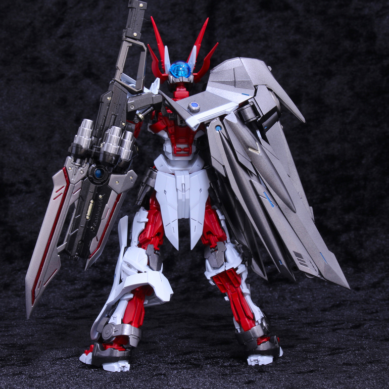 Custom Build: HGBD 1/144 Gundam Astray No-Name + Caletvlch - Gundam Kits Collection News and Reviews