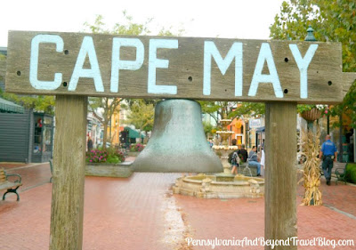 S. S. Cape May Ship's Bell at The Washington Street Mall in Cape May, New Jersey