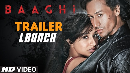 BAAGHI Tiger Shroff TRAILER 2016 Indian Movie Shraddha Kapoor and Sudheer Babu