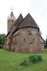 medieval church hungary churches romanesque parish route szatmar county