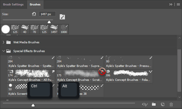 Skip tool activation when selecting brush preset in Photoshop