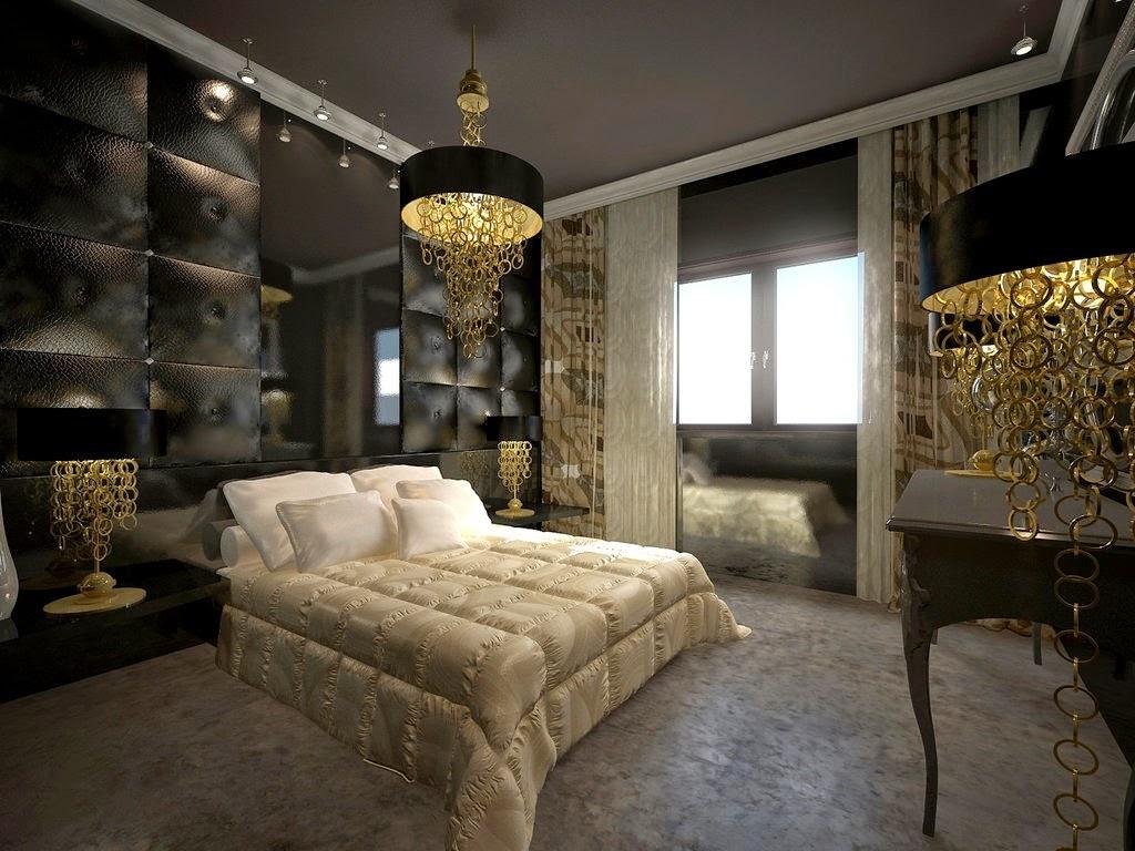 dormitorios dorados ideas para decorar dormitorios