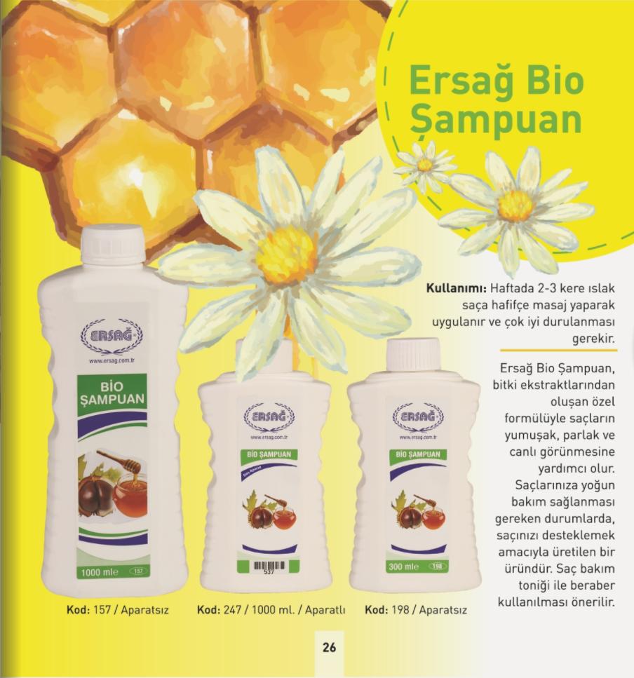 Ersağ Bio Şampuan