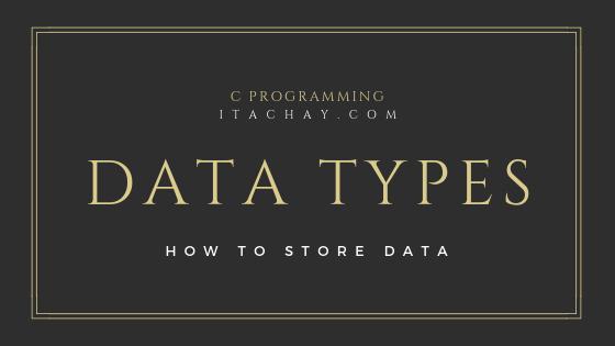 data types in c programming