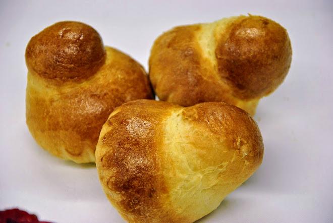 Brioche traditionnelle : pâte, façonnage et cuisson