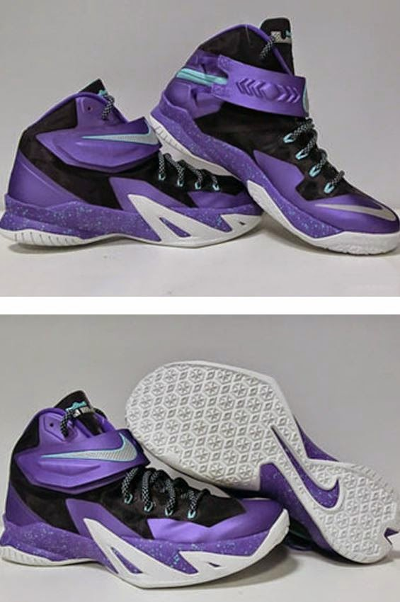 """pretty nice 1cd71 8ba7a THE SNEAKER ADDICT: Nike Zoom LeBron Soldier 8 """"Hornets ..."""
