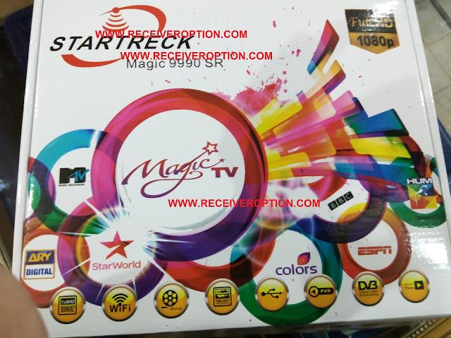 STARTRECK MAGIC 9990 SR HD RECEIVER POWERVU KEY SOFTWARE