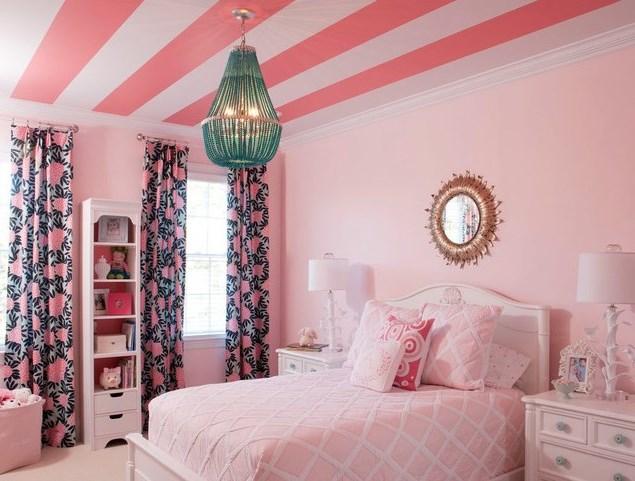 Bilik Tidur Pink Putih Desainrumahid