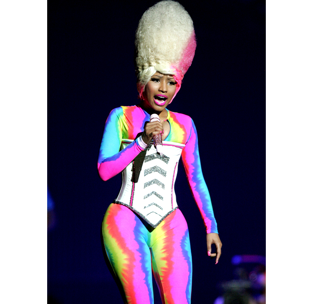 celebrity today nicki minaj's 25 most outrageous outfits