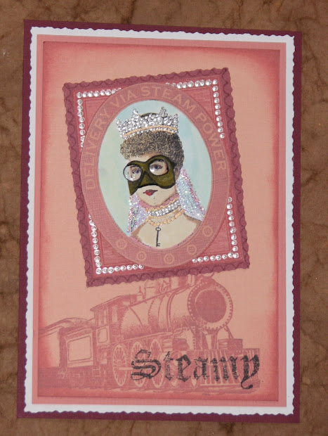 Ink Stains Coast Challenge - Pink Steampunk