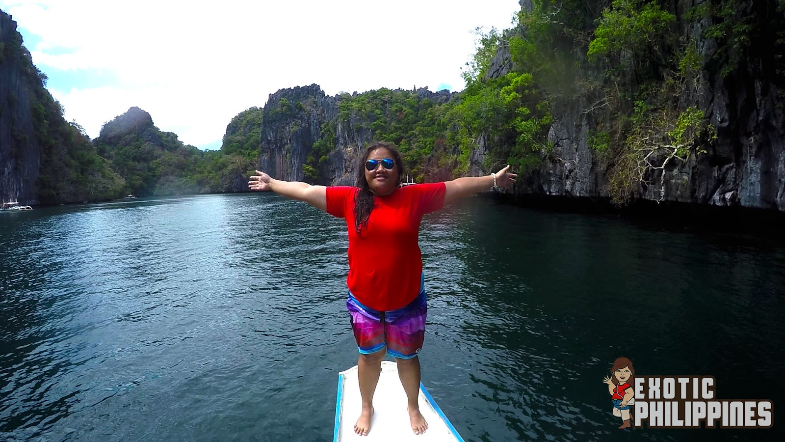 Passing Through the Big Lagoon of El Nido Palawan Exotic Philippines Travel Blogger Blog