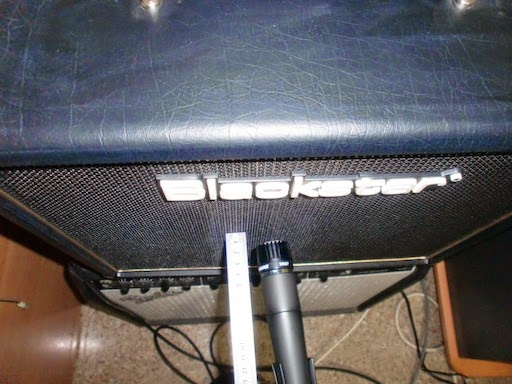 Standard guitar amp miking