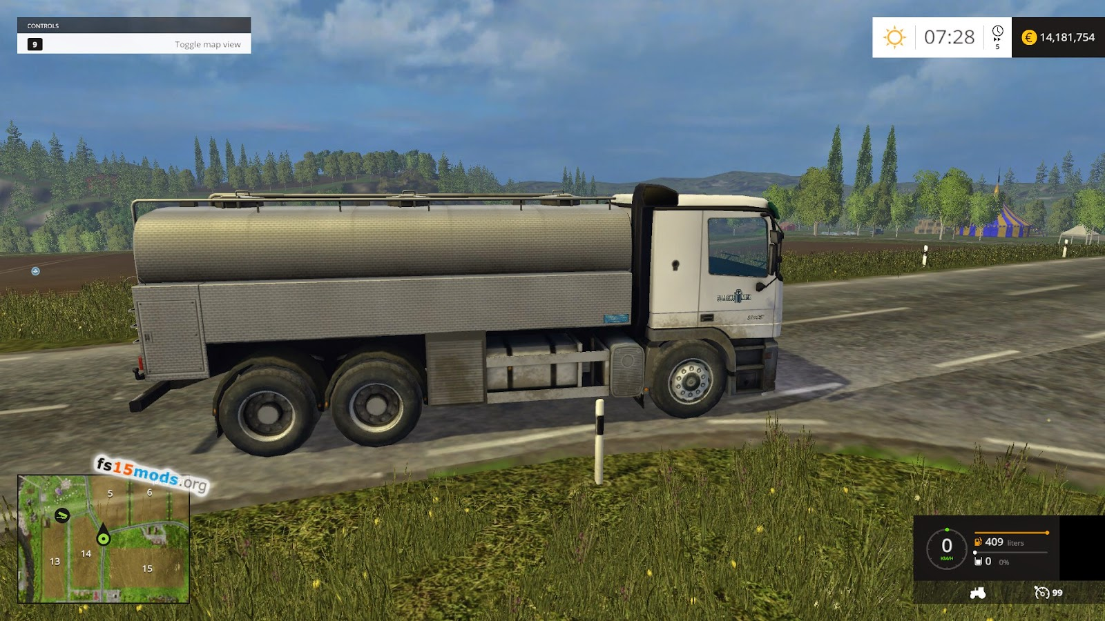 control truck with Truck For Milk on 382102349616436834 further La Suspension De Aire as well rakavan moreover 123 in addition Renault Tieflader R en V1 0 Ls17.