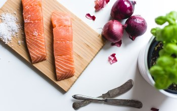 Wallpaper: Salmon Fillets