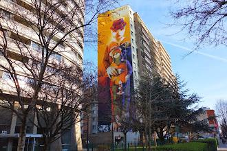 Street Art : Les grandes fresques du parcours Itinerrance / Mairie de Paris 2014 - XIIIème