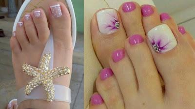 Decoración de Uñas de los pies