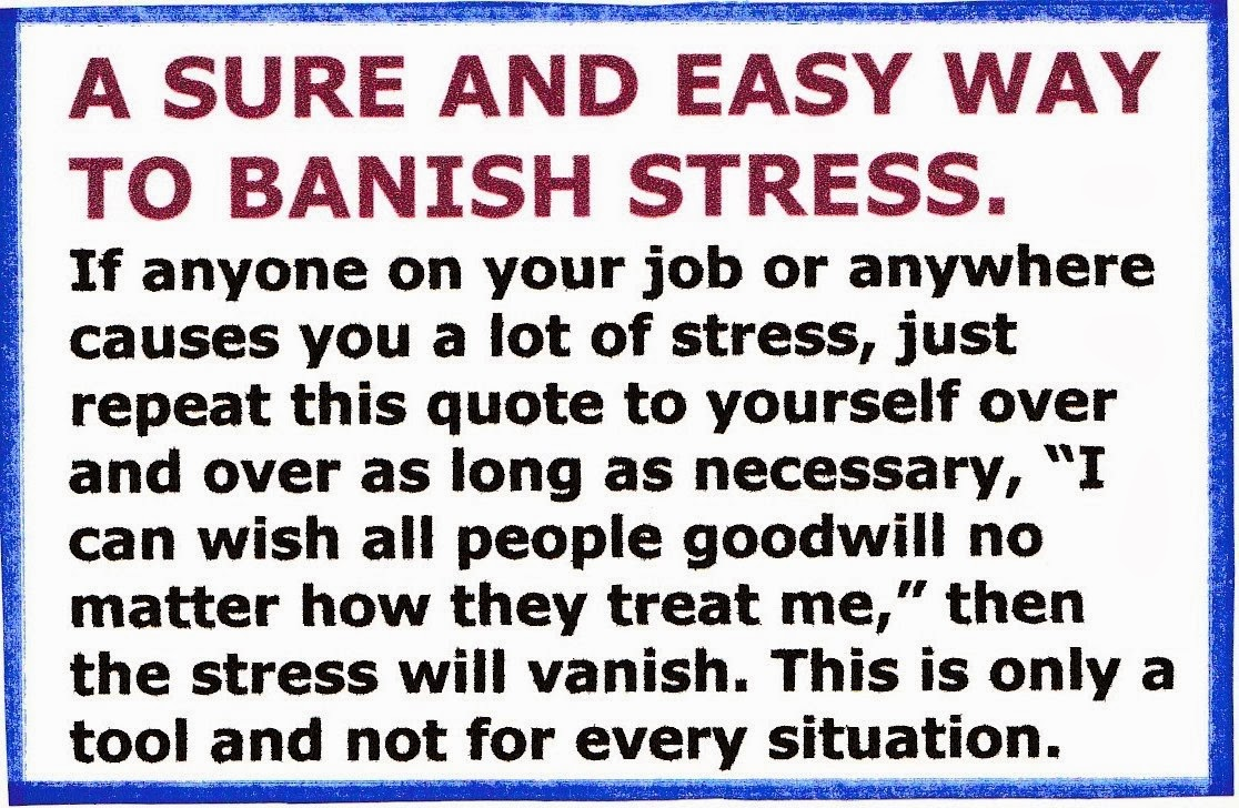 BANISH STRESS