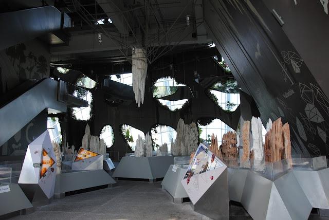 Imitacja jaskini w Cloud Forest