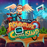 Skylar and Plux: Adventure On Clover Island Game Logo