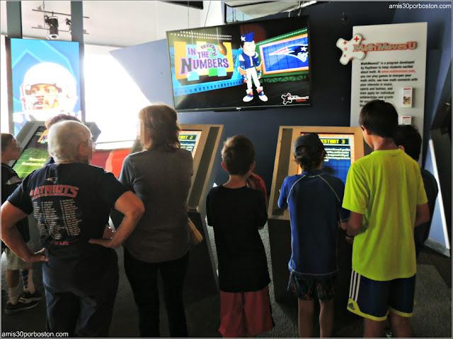 Juegos Matemáticos y Científicos en el Museo de los Patriots