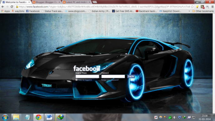 How to change default Facebook,You tube,Google Log in Theme