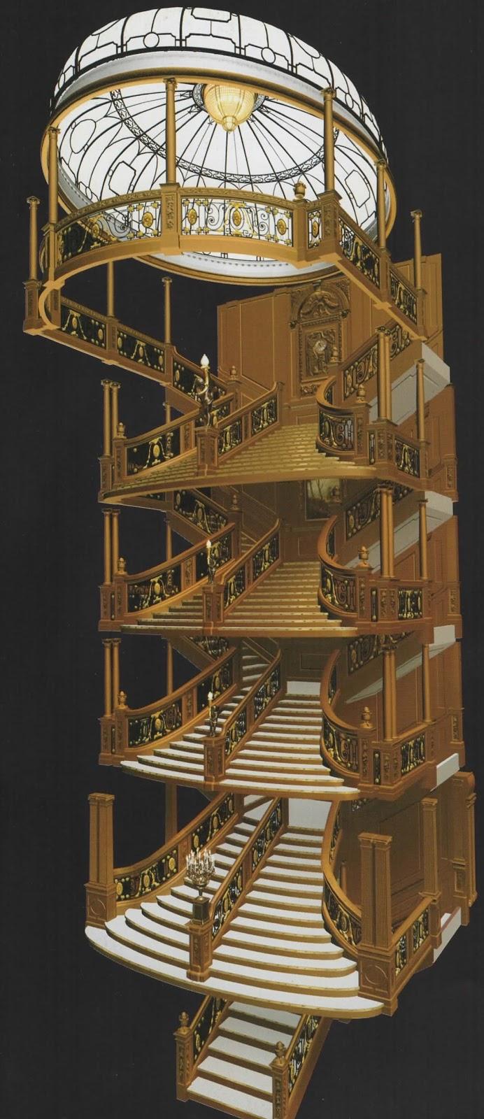 Grand Staircase Titanic Underwater | www.pixshark.com ...