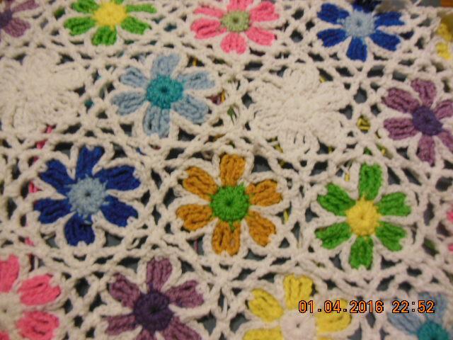 Easy Crochet Flower Diagram Gardening Flower And Vegetables