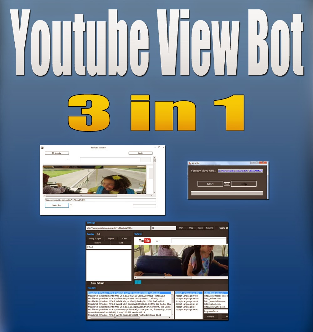 Youtube View Bot Full Download : increase youtube view with