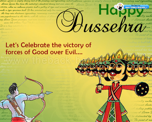 Happy Dussehra Wallpaper