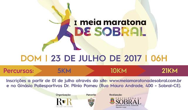 Sobral 244 anos   Prefeitura realizará primeira edição da Meia Maratona de Sobral
